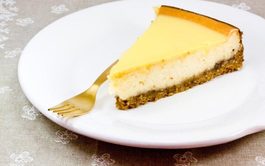 GARDUS citrininis sūrio pyragas