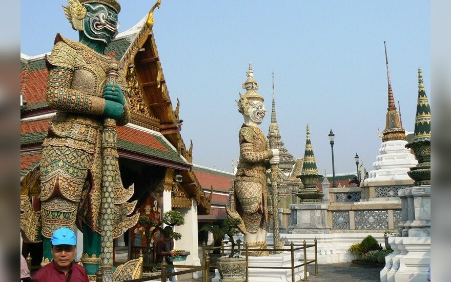 Karaliaus rūmų sargai,  Bankokas
