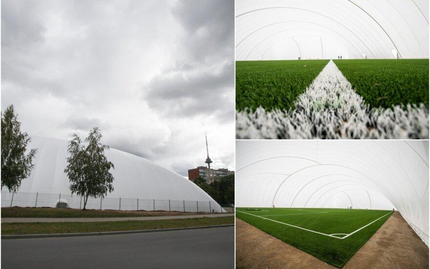 Baltijos futbolo akademijos (BFA) arena / Foto: Andrius Ufartas