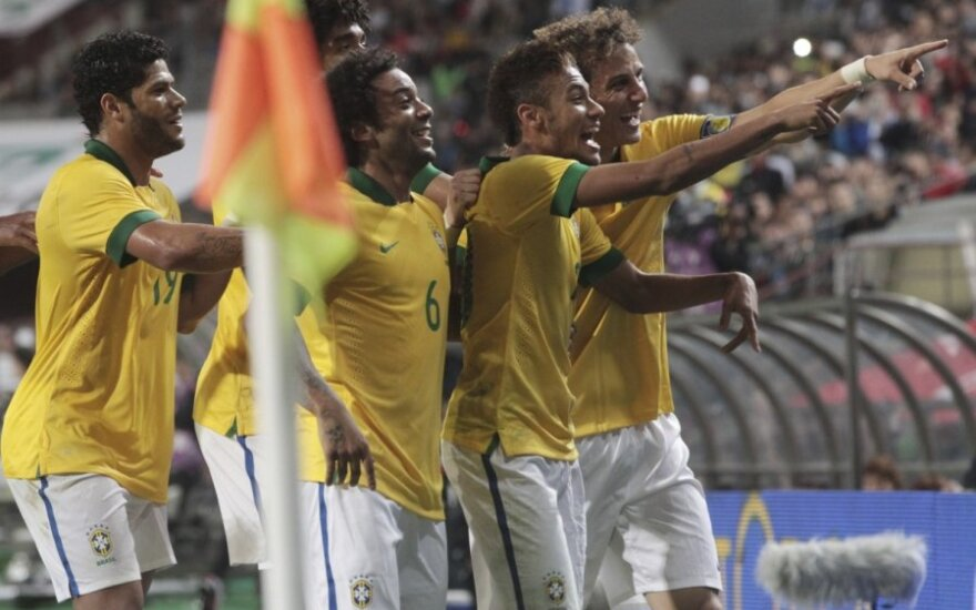 Brazilijos rinktinės futbolininkai