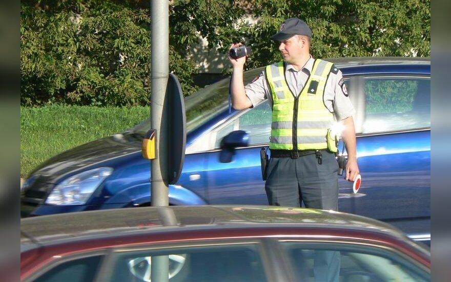 Policininkas su kamera