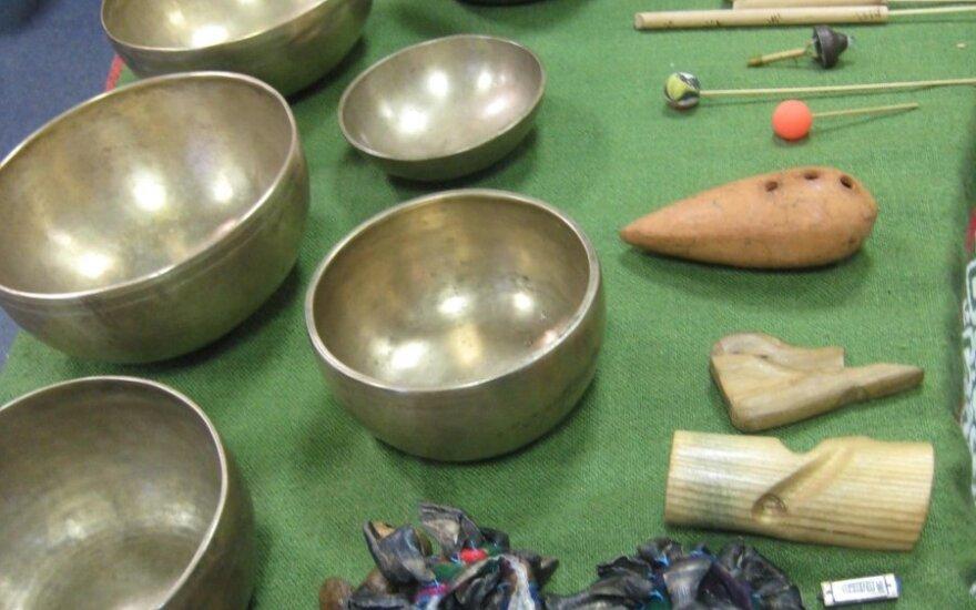 Garsų terapijos instrumentai