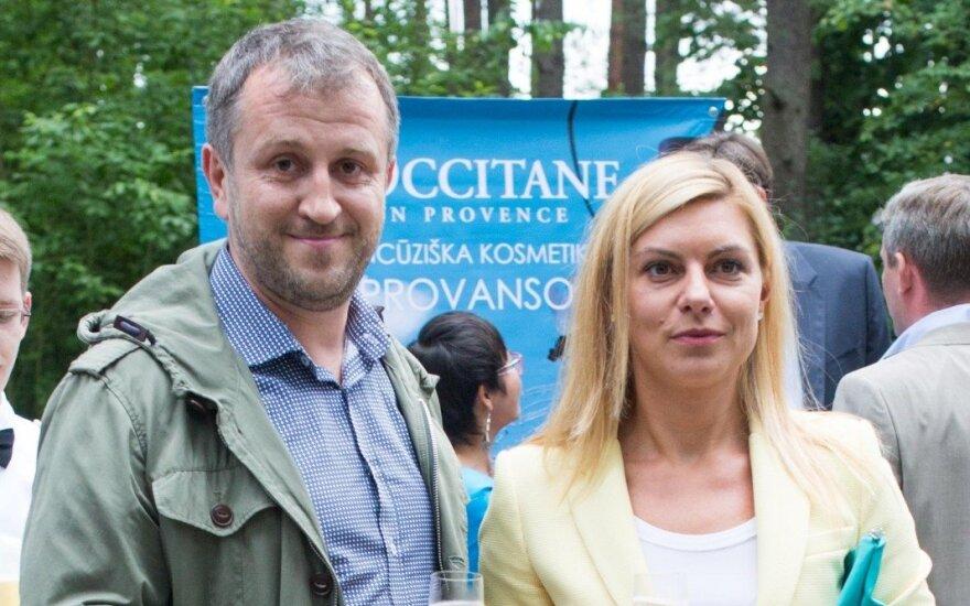 Laura Čepukaitė ir Liutauras Čeprackas