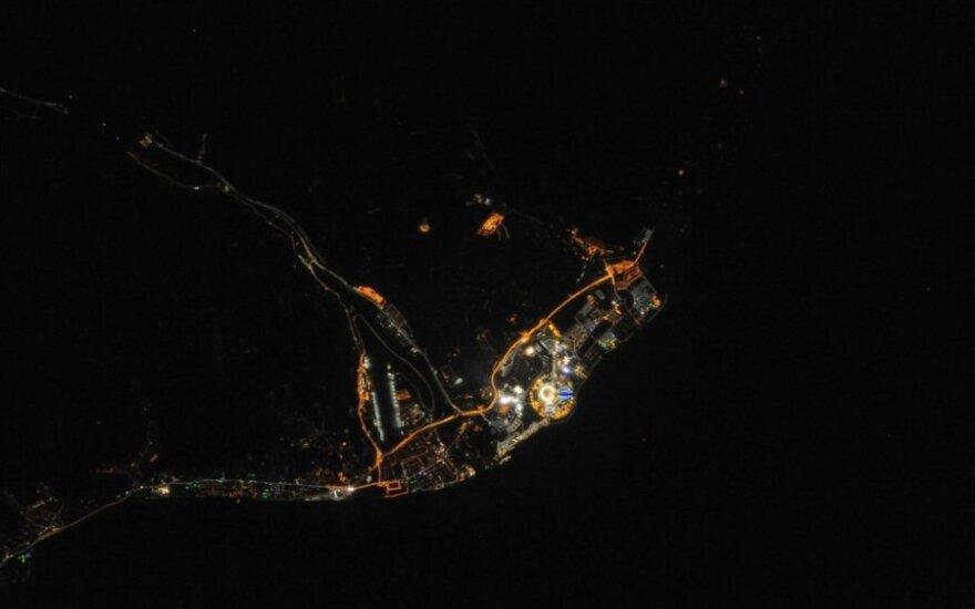 Sočis iš kosmoso: rado panašumų su Šiaurės Korėja