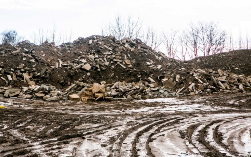 Statybinių atliekų sąvartynas Žirnių gatvėje