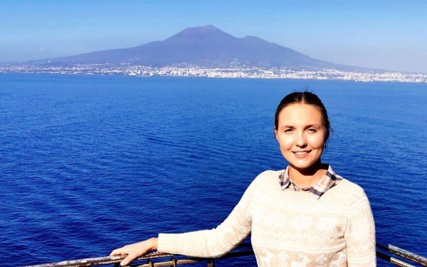 V. Nagliūtės įspūdžiai iš Neapolio