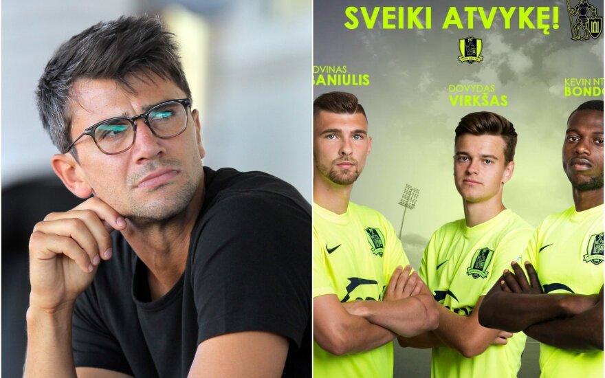 Mihretas Topčagičius, Edvinas Baniulis, Dovydas Virkšas, Kevinas Bondombe