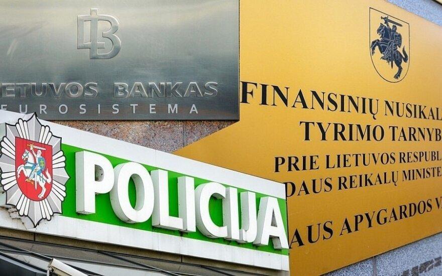 Lietuvos bankas, policija ir kitos institucijos toliau merkia pinigus į rusiškas IT sistemas