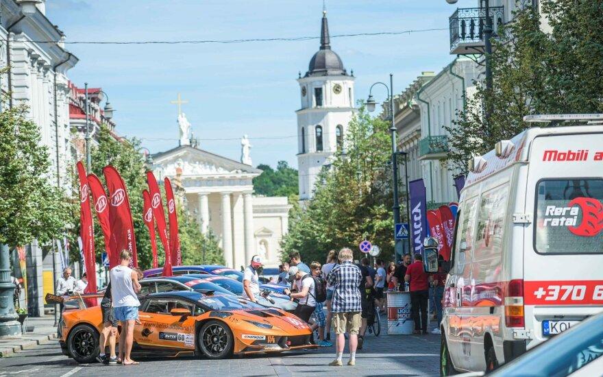 Aurum 1006 km lenktynių pristatymas Vilniuje