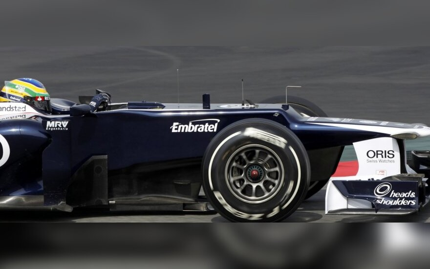 """Williams"" autombilis, vairuojamas Bruno Senna"