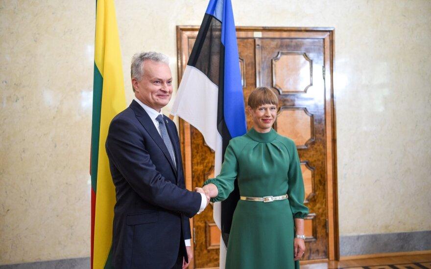 Nausėda: Estija supranta mūsų laikyseną Astravo AE klausimu
