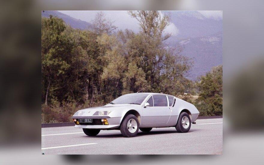 Istoriniai Renault Alpine modeliai