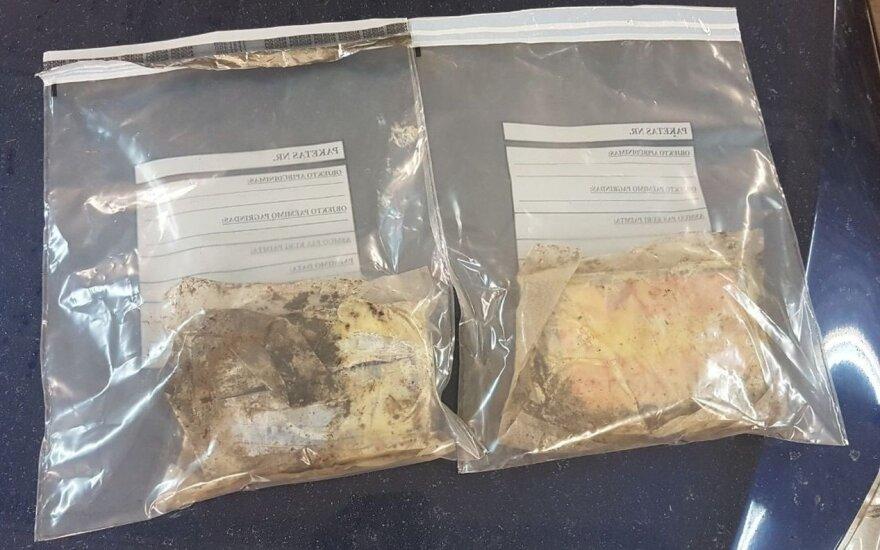 Kauno teisėsaugininkai aptiko 2,7 kg bandyto paslėpti kokaino