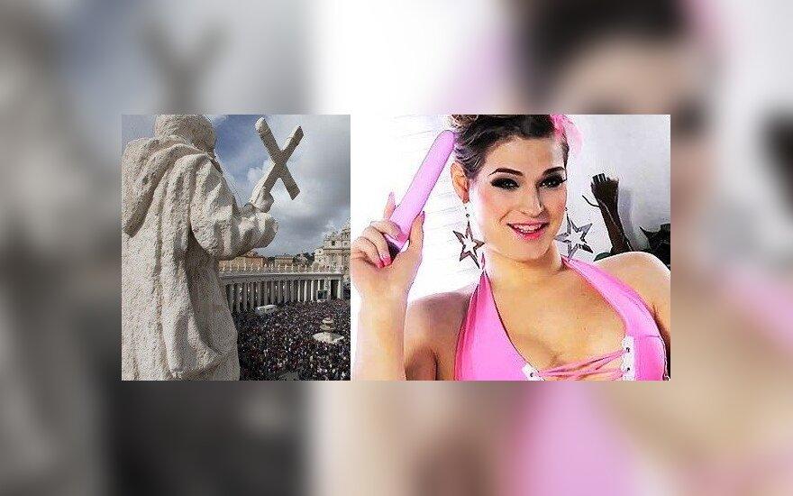 Nuodėmingasis Vatikanas neatsispiria pornografijai