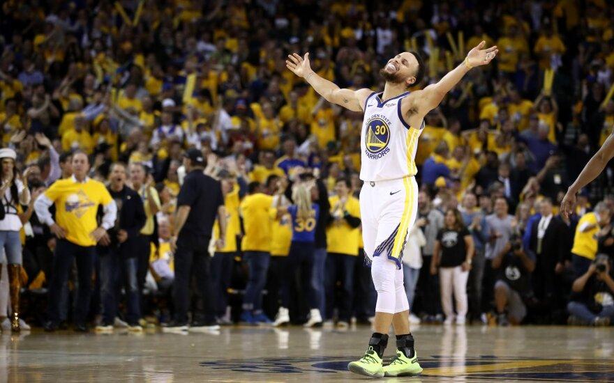 Curry pareiškė, kad prieš bet kurį varžovą NBA lygoje gali įmesti 60 taškų
