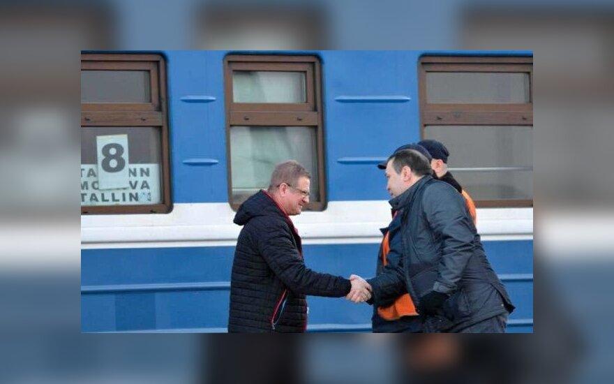 A. Kornilovo ir V. Lepechino susitikimas