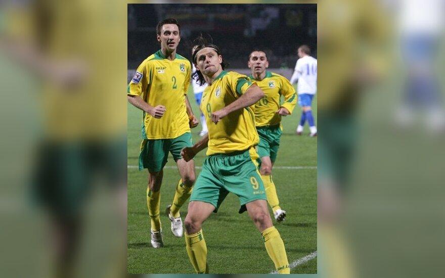 Lietuvos rinktinė FIFA reitinge pakilo į 48-ą vietą
