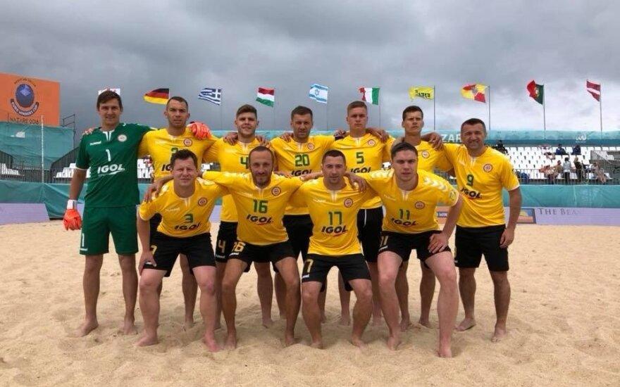 """""""Igol"""" paplūdimio futbolo komanda (klubo nuotr.)"""