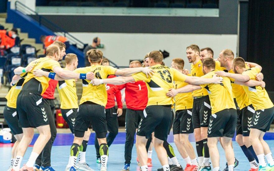 Europos rankinio čempionato atranka: Lietuva - Islandija (Foto: Mantas Daškevičius)