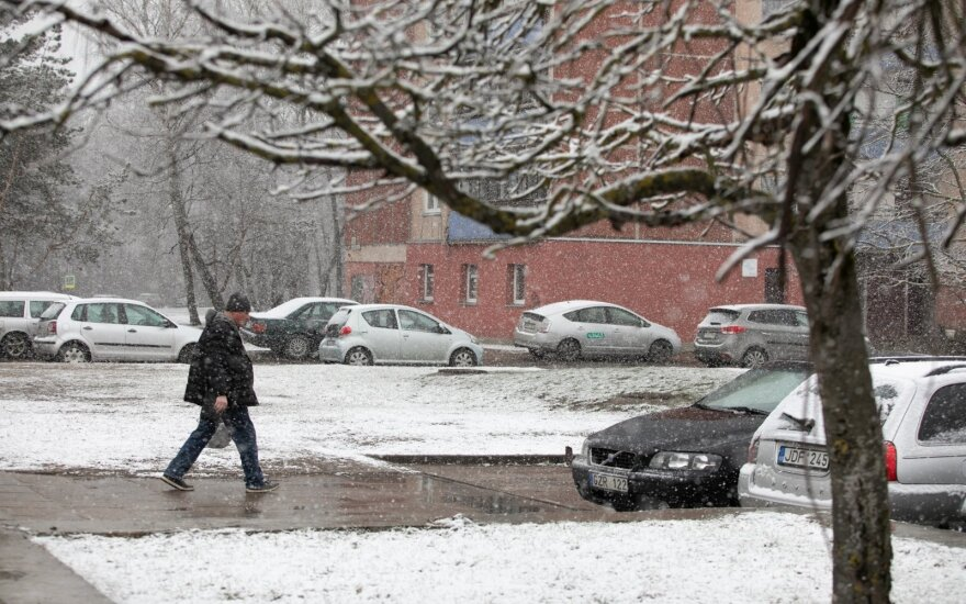 Į Lietuvą beldžiasi žiema: jau aišku, kada visoje šalyje sulauksime sniego