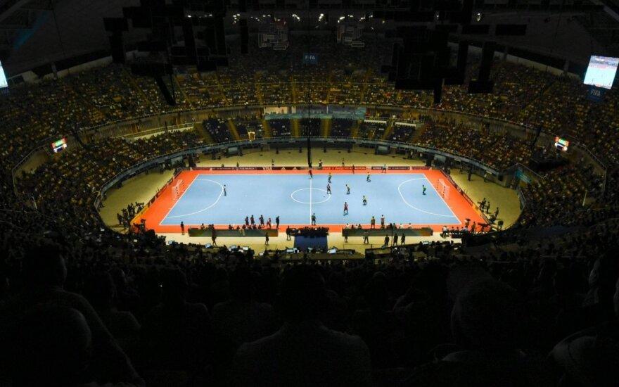 FIFA sprendimo laukianti Lietuvos futsal rinktinė žais du kontrolinius mačus