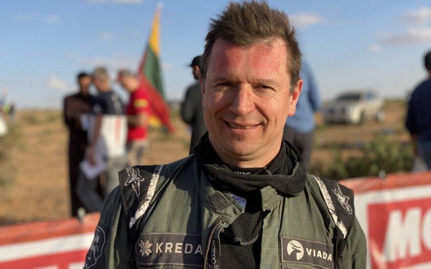 Antanas Juknevičius apie Dakarą: dalyvių skaičius gali būti mažiausias ralio istorijoje
