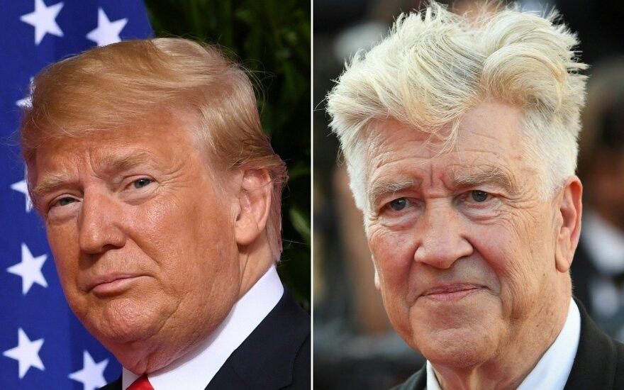 Režisierius Lynchas: Trumpas gali įeiti į istoriją kaip vienas iškiliausių JAV prezidentų