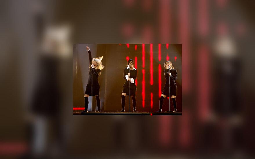 """Rusijos atstovės Eurovizijoje """"Serebro"""""""
