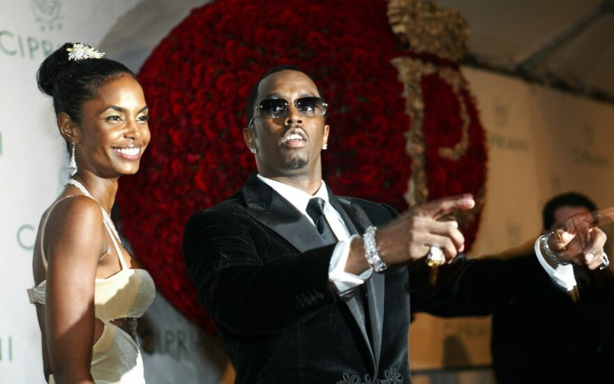 "Kim Porter ir Sean ""Diddy"" Combs"