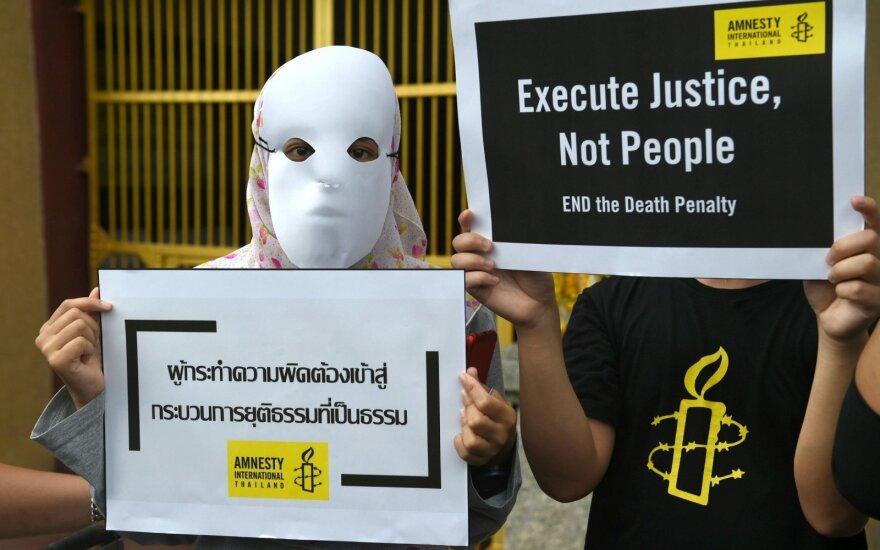 Tailandas įvykdė pirmąją per devynerius metus egzekuciją