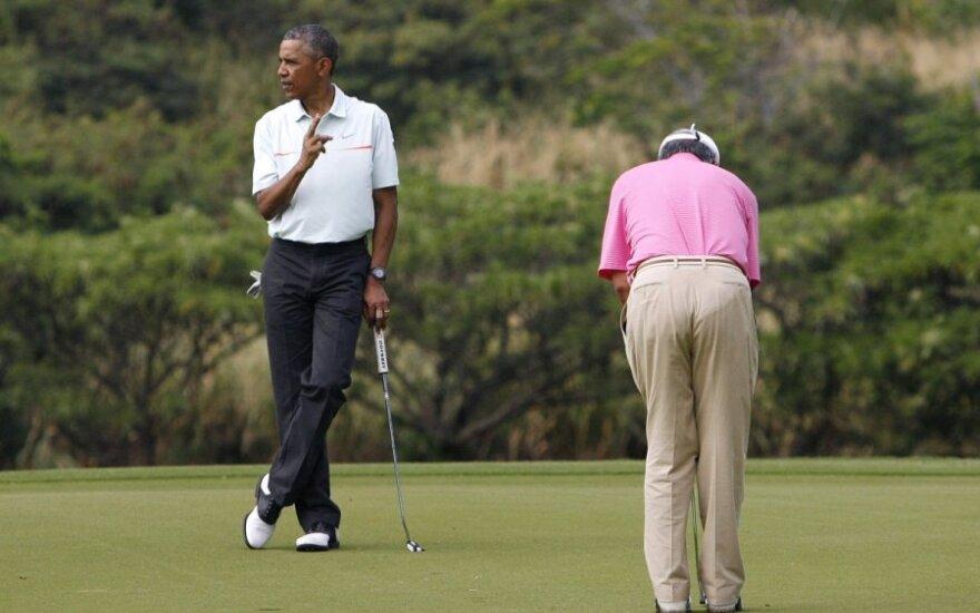 Barackas Obama ir Najibas Razakas