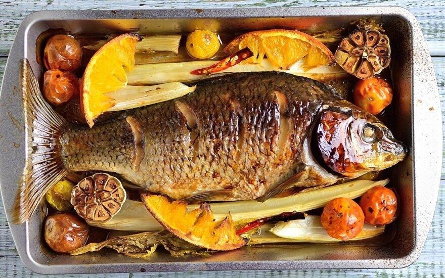 Karpinės žuvys: kuo jos naudingos mūsų sveikatai?