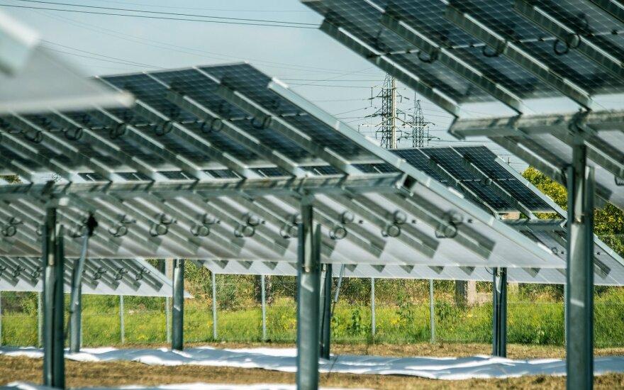 Nauja saulės jėgainė