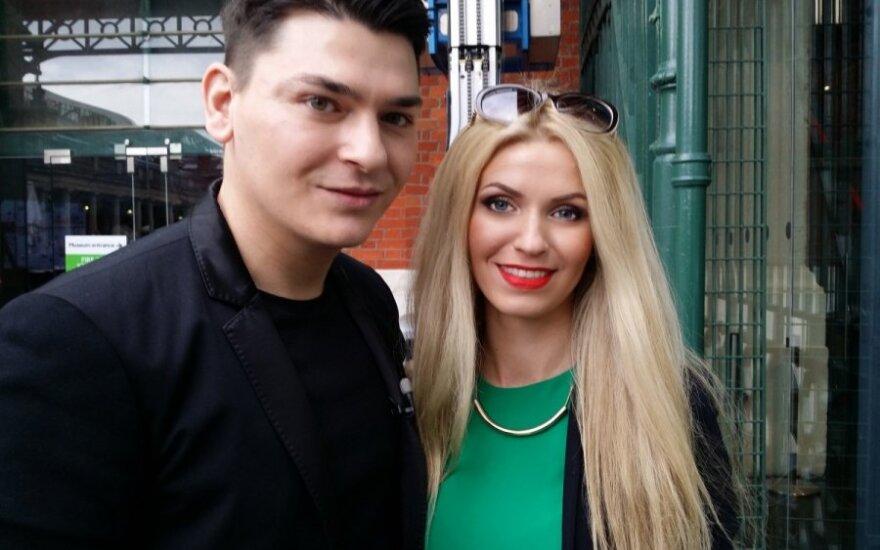 Mario Dedivanovicas ir Rasa Sinkevičiūtė