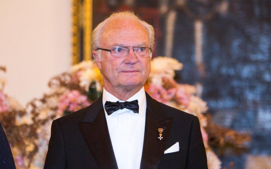 King Carl XVI Gustav of Sweden
