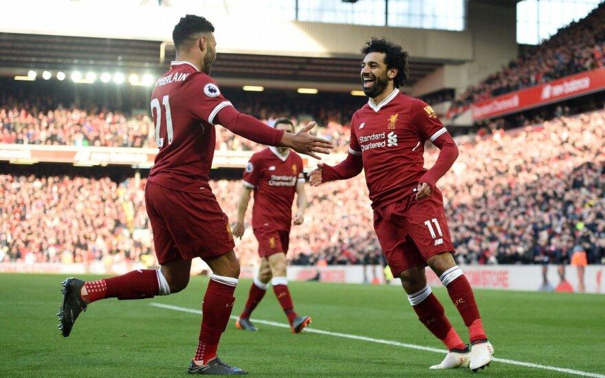 Mohamedo Salah sąskaitoje – 31 įvartis per 37 mačus.
