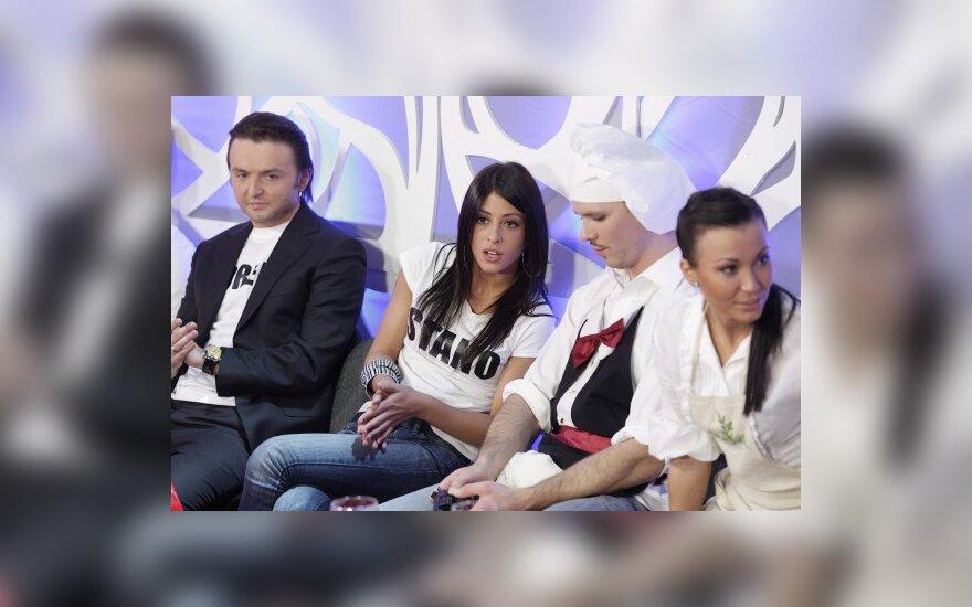 Stano, Šorena, Audrius Bružas ir Karina Krysko