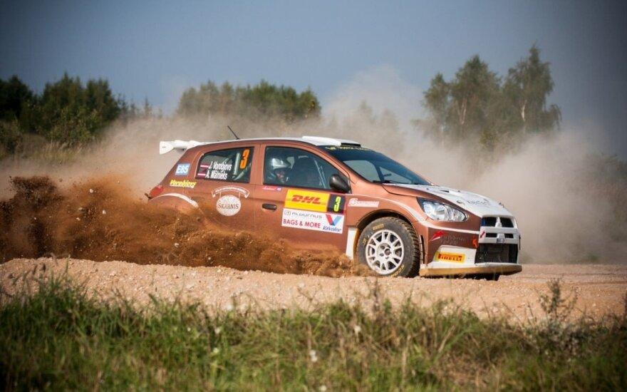 """Prie """"DHL Rally Elektrėnai"""" starto linijos stos 70 ekipažų"""