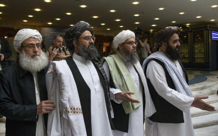 Talibano atstovai derybose