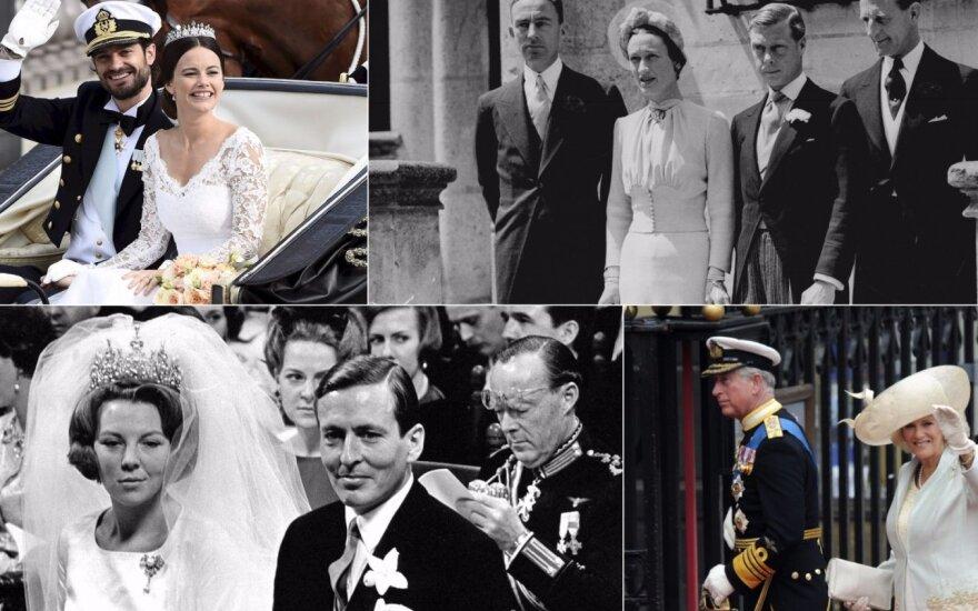 Karališkosios vestuvės, apie kurias kalbėjo visi: kai kam netgi teko atsisakyti sosto