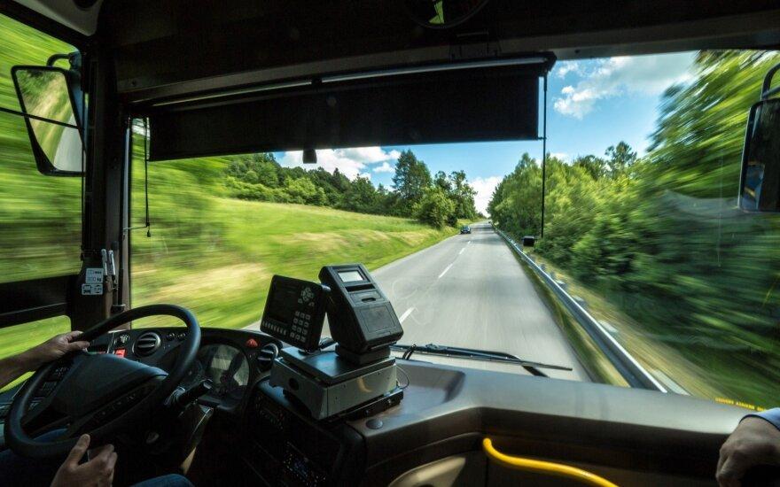 Autobusų keleivių reiklumas vis auga: nebeužtenka nuvykti iš taško A į tašką B