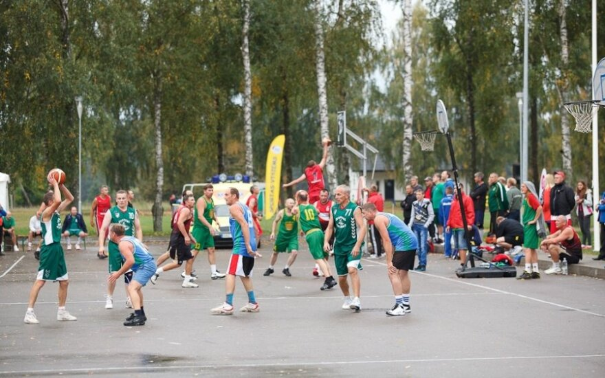 Prienuose vyko Lietuvos seniūnijų sporto žaidynės