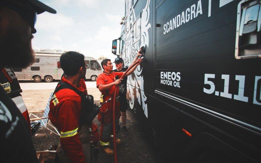 Į Dakarą atvykstančiam Benediktui Vanagui komanda ruošia energijos užtaisą