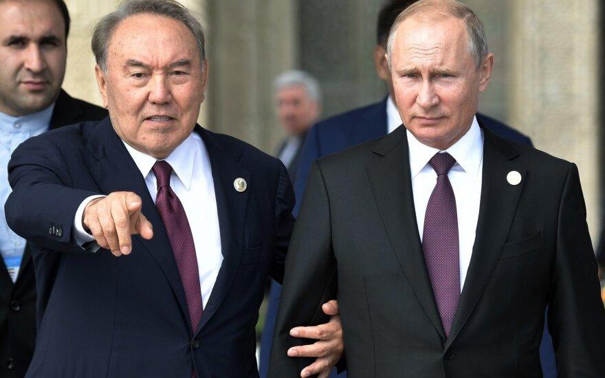 Nursultanas Nazarbajevas, Vladimiras Putinas