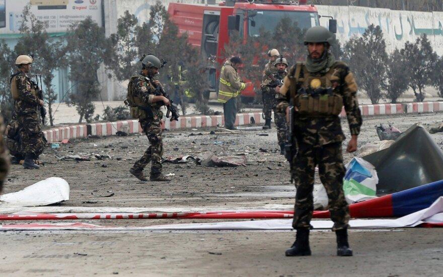 Kabule sprogimas užmušė mergaitę, sužeidė mažiausiai 9 žmones