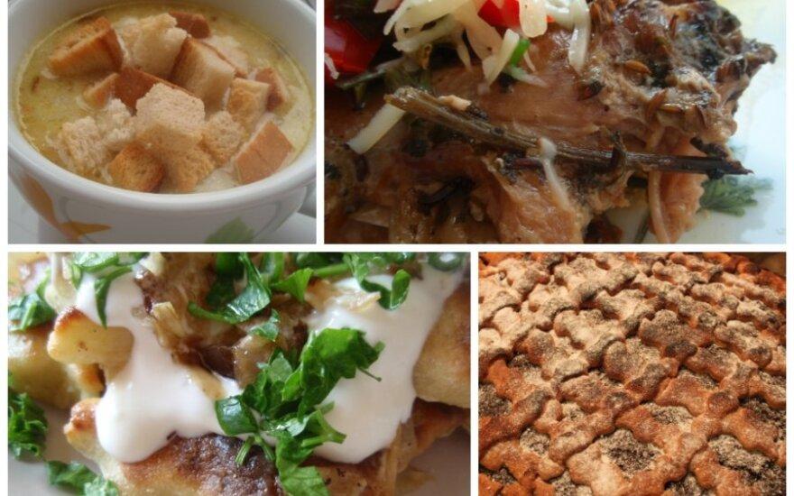 Mūsų šeimos kulinarinė tradicija: lobis palėpėje rastame sąsiuvinyje
