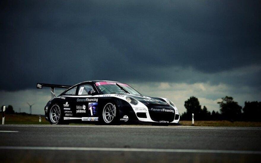 """Porsche 911 GT3 Cup S"" (M. Bendzelausko nuotr.)"