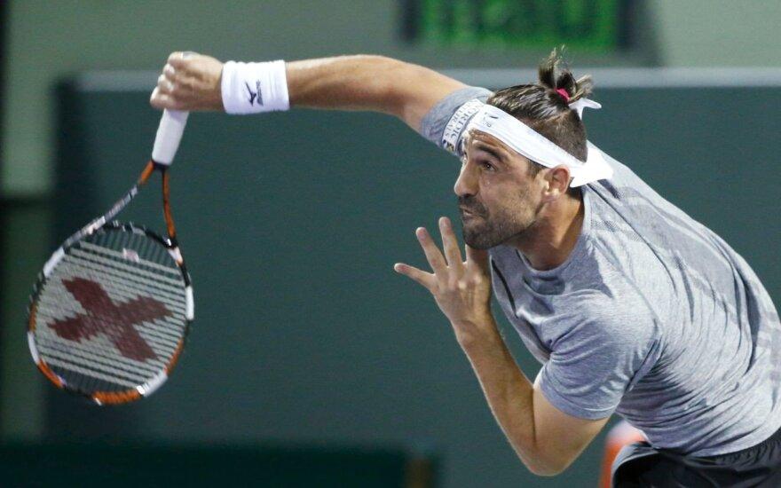 "ATP ""Masters"" turnyre laimėjo A. Seppi ir M. Baghdatis"