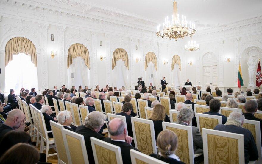 Paskirtos dvylika Vyriausybės kultūros ir meno premijų