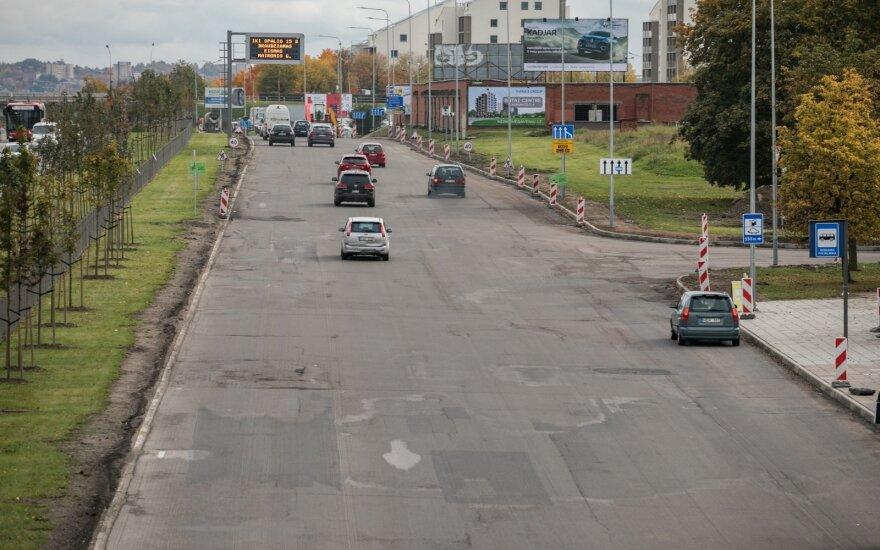 Sostinėje atnaujinama svarbi gatvė: bus eismo pakeitimų